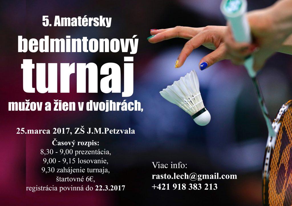 Bendintonovy turnaj 2017-1